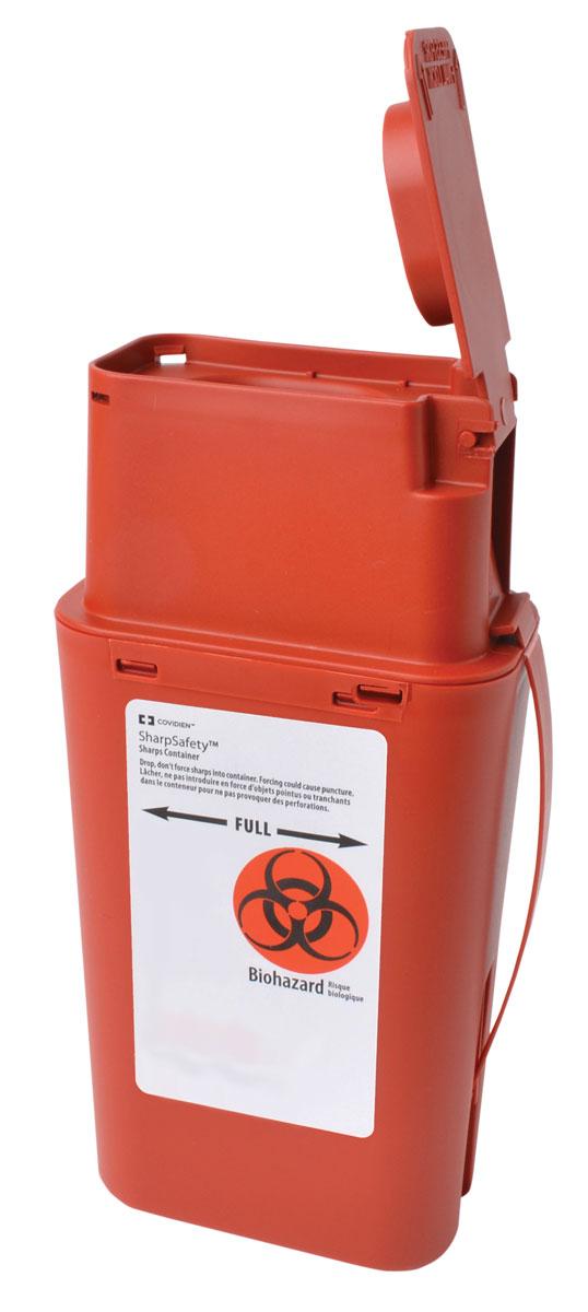 Sharps Biohazard Transport Container - 946mL